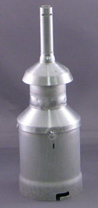 """Chimney / jet assembly for 3.25"""" diffusion pump - fits DV-502A"""