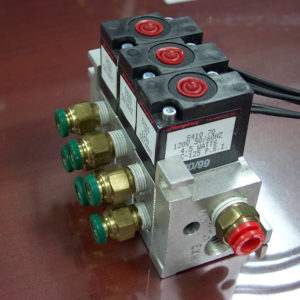 3 Station Air Manifold Assembly for DV-502A