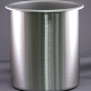 Stainless steel beaker for DCP-1 Critical Point Dryer
