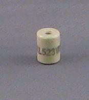 STANDOFF-CERAMIC, .38 DIA X .50 LG