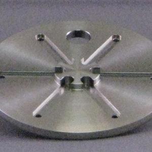 Titanium Bottom Liner for CC-105 Ion Source