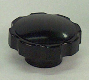Black plastic knob for DV-502A manual system