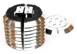 15K Charcoal Array Kit, Model Cryotorr8/Cryoplex8