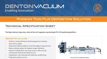 Phoenix Thin Film Deposition Solution Data Sheet thumbnail