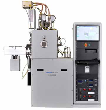 denton vacuum explorer thin film deposition system