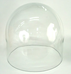 """Pyrex Bell Jar 10"""" D X 12"""" H for Bench Top Turbo Systems"""