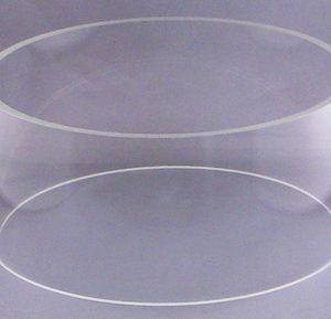 "Pyrex Cylinder for Desk XLS Systems 10"" D X 6"" H"