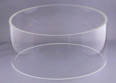 """Pyrex Cylinder 10"""" D x 4.5"""" High for Desk II XLS"""