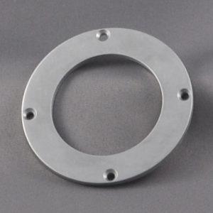 Aluminum Target Retaining Ring for Desk Systems