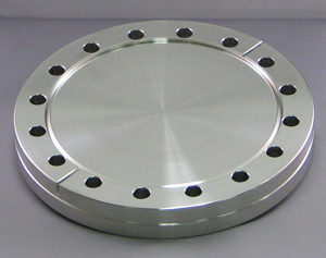 FLANGE-BLANK, 6.00 NONROTATABLE, CONFLAT STAINLESS STEEL
