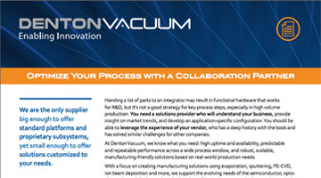 Optimize Your Process with a Collaboration Partner
