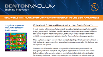 Real-World Thin Film System Configurations for Compound Semi Applications