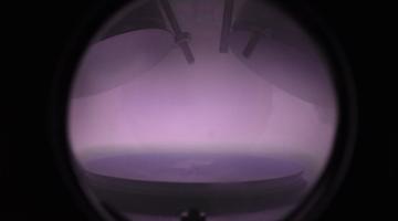 Glow Discharge in Sputter Module