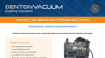Infinity Ion Beam Sputtering System brochure thumbnail